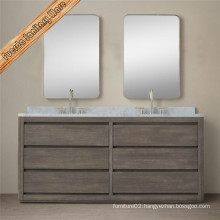 Classical Bathroom Vanity Cabinet Solid Wood