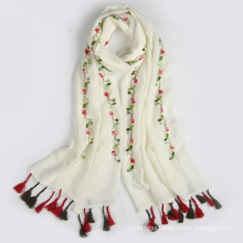 Hangzhou factory new arrival hot sales cheap simple OEM women muslim head scarf