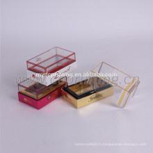 boîte de cadeau de parfum de papier de boîte de parfum de fenêtre de papier de luxe pour des femmes
