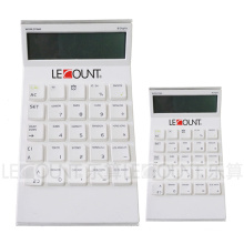 12 Digits Tilted-Head Desktop Calculator with World Time Display (LC296-12D-1)