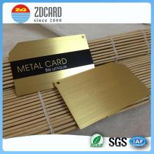 Индивидуальная визитная карточка без минимальной металлической визитной карточки