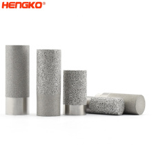 HENGKO stainless steel powder sintered greenhouse temperature and humidity sensor soil dew point  probe housing housing