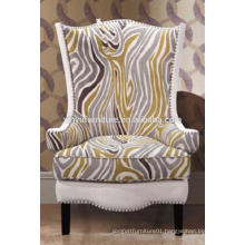 Unique design wing back arm hotel sofa chair XYD451