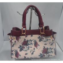 PU Fashion Lady Print Handbag with SGS (NMDK-A13)