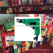 India Hot Sales 6.5mm/10mm 230w Power Portable Mini Manual Hand Drill Machine Small Straight Electric Drill