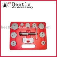 kit de herramienta de servicio de zapata y pinza de freno de disco, herramienta de reparación de coche