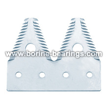 high quality kinds of combine harvester spare parts knife section