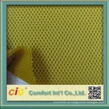 3D tela de acoplamiento del espaciador de aire malla tela/sándwich para cubierta de asiento de motocicleta