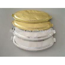 tapa de la bandeja de papel de aluminio