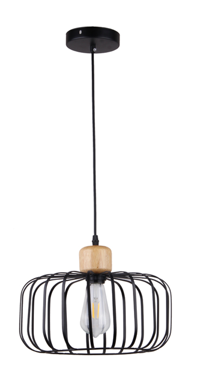 European Modern Chandelier Black