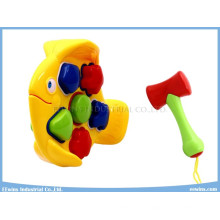 Rompecabezas Bloques Juguetes Juguetes de plástico Pescado Juguetes educativos