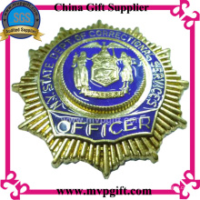 Metal 3D Badge for Police Use