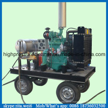 Coque de bateau 50MPa nettoyage pompe Diesel pompe à eau haute pression