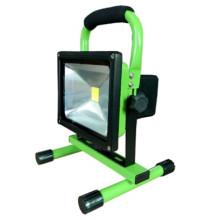Lumière d'inondation rechargeable de la lumière LED de 10 / 20W LED