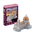 123PCS Education Amazing 3D Florence Cathedral Puzzle Toy (10222824)