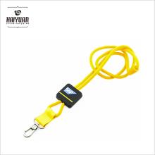 Custom EDM двойной клип Круглый веревки кожаный полиэстер простой футбольный квадратный выдвижной ремень