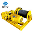 Treuil hydraulique durable de 5 tonnes charbon ou mine winch