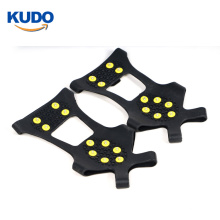 10 spikes high quality TPE material traction cleats with 4 sizes