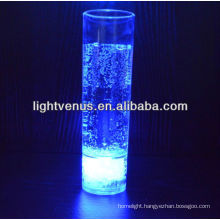Battery changeable 300ML LED long Drink Glass