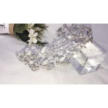 Silver Charm rhinestone  handmade wedding hairband accessories hair