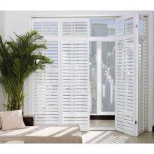 Outward opening ventilation entry doors/pvc louver door