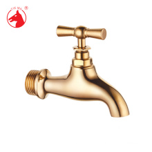Low price outdoor original color brass polished tap(ZS0101)