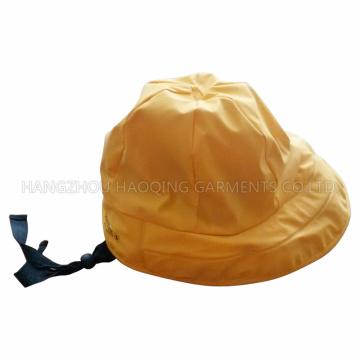 Gorra de lluvia PU para adultos