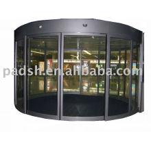 push open automatic glass sliding door