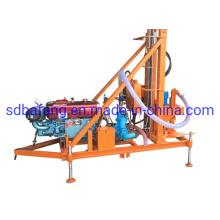 80-100m Depth Diesel Telescopic Cylinder Water Well Drilling Machine