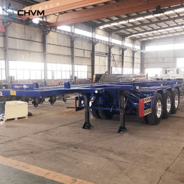 Semirimorchio portacontainer scheletro 3Axles 40FT