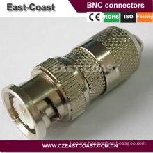 Nickel /Silver RG6 bnc male connector