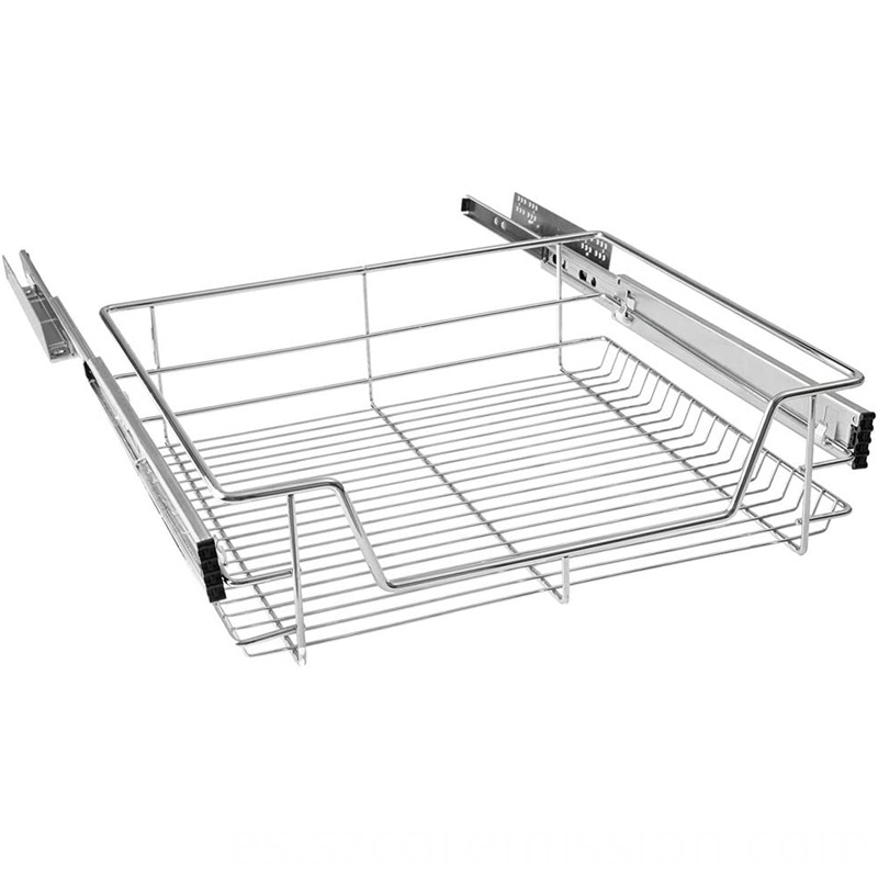 20kg Loading Capacity Metal Telescopic Pull-out Basket