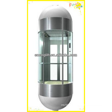 Ascenseur panoramique sécurisé VVVF