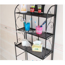 Metal 3 Shelf Bathroom Storage Organizer Spacesaver Towel Over Rack Toliet