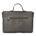 Vintage Leder Aktentasche Schulter Laptop Business Bag