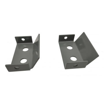 L-Shape Machining Sheet Metal Fixing Bracket Pembuatan