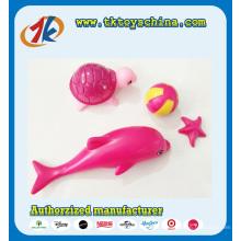 Venda quente Mini Animal Mar Brinquedos Dolphin e Tartaruga Brinquedos