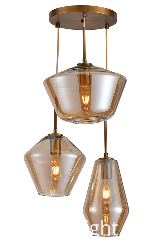 3 Lamps Glass