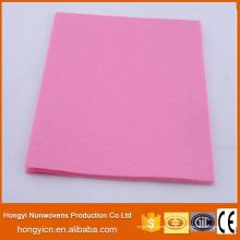 Super saugfähige mehrfarbige Nadel gelochte nichtgewebte Gewebe-Reinigungs-Produkte