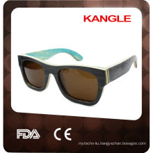 2017 High Quality TOP SALE Real wooden material wooden sunglasses
