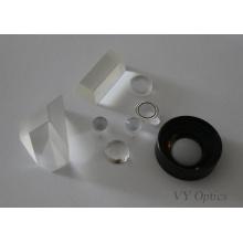 Lente de vidro óptico Customed para microscópio