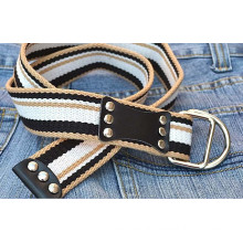 Fashion Woven Jeans studed belt