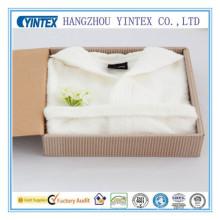 Plush Shawl Robe Super Soft Fleece Bathrobe Made in China