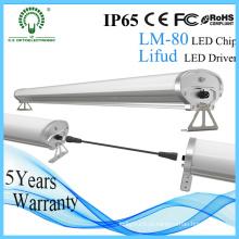 Iluminação linear do diodo emissor de luz da Tri Prova independente de IP65 1.2m