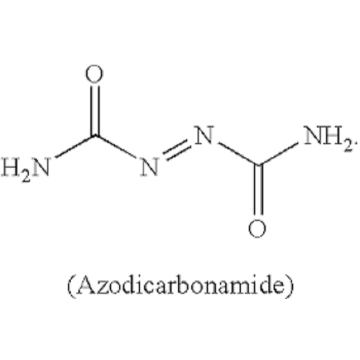 decomposition  azodicarbonamide temperature