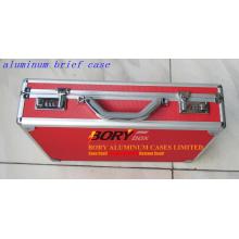 Benutzerdefinierte OEM Aluminium Red Briefcase