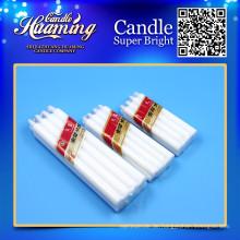 Billige weiße Kerzen Kerze, die Versorgungsmaterialqualitäts-Exportkerzen Großverkauf bildet