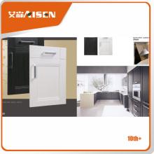 Porte d'armoire de cuisine pvc de haute qualité