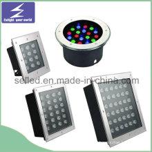 12V / 220V rostfreies im Freien LED begrabenes Licht für Dekoration