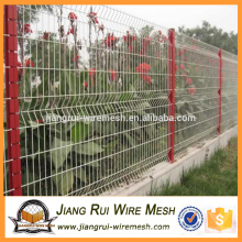 High Quality Security PVC Coated 3D Wire Mesh Fence